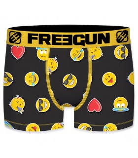 Men's Emotik LBZ Black and Yellow Boxer