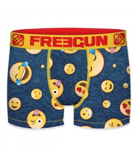 Boy's Emotik Life Yellow and Red Boxer