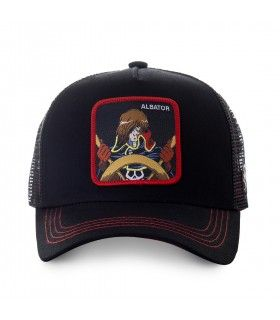 Casquette filet Albator Captain Noir