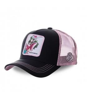 Saint Seiya Andromeda Pink and Black Cap