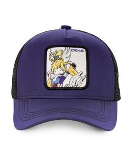 Saint Seiya Cygnus Purple Cap