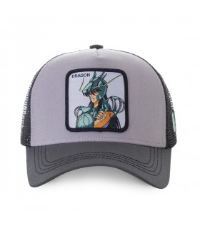 Casquette filet Saint Seiya Dragon Gris
