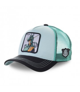 Casquette filet Saint Seiya Dragon Vert