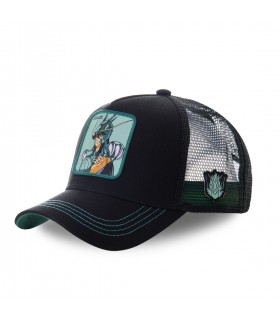 Men's Capslab Saint Seiya Dragon Black Cap