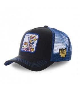 Casquette Capslab Saint Seiya Phoenix Noir et Bleu