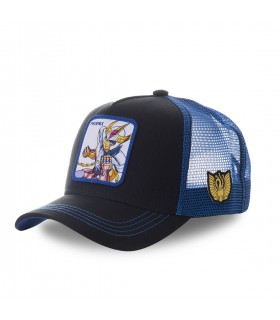 Men's Capslab Saint Seiya Phoenix Black and Blue Cap