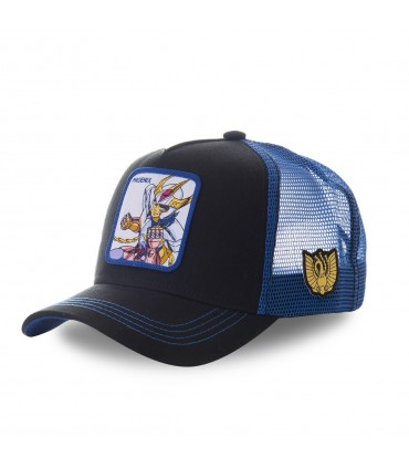 Saint Seiya Phoenix Black and Blue Cap