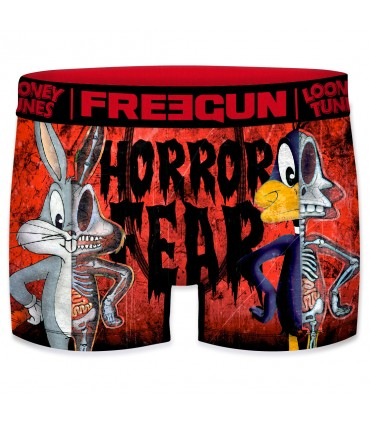 Boxer garçon looney tunes horror fear bugs et daffy