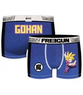 Boxer Freegun Goku et Gohan bleu