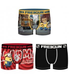 Lot de 3 Boxers Freegun homme despicable Me