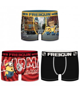 Lot de 3 boxers homme Despicable Me