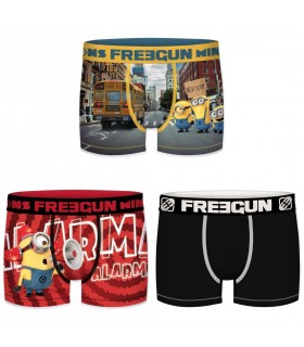 Lot de 3 boxers garçon Despicable Me