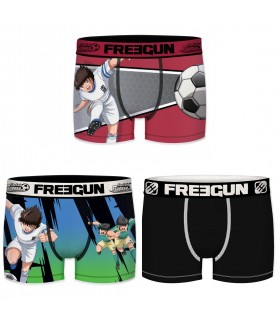 Pack of 3 boy's Captain Tsubasa Boxers