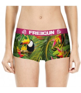 Shorty fille Tropical