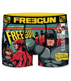 Men's Vintage Heroes Comics Boxer