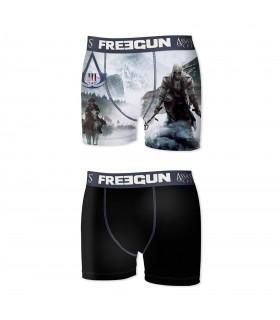 Lot de 2 Boxers Freegun garçon Assassin's Creed 2