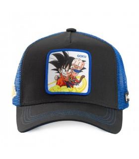 Casquette Capslab Dragon Ball Goku Noir et Violet