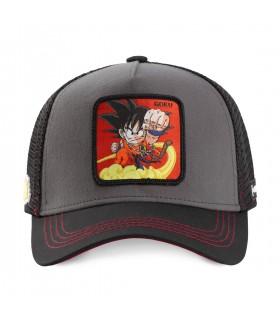 Casquette Capslab Dragon Ball Goku Noir et Rouge