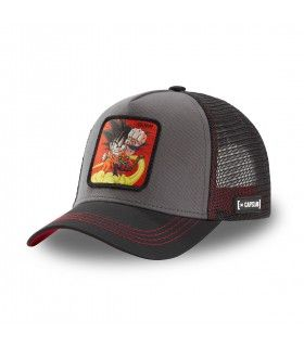 Dragon Ball Goku Black and Red Cap with mesh