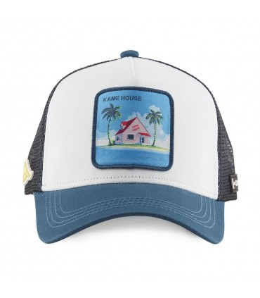 Casquette Capslab Dragon Ball Kame House Blanc
