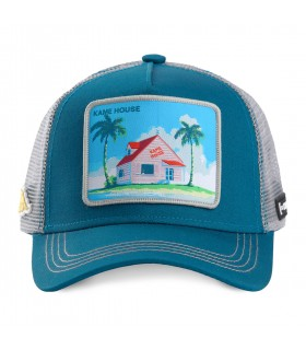 Casquette Capslab Dragon Ball Kame House Bleu