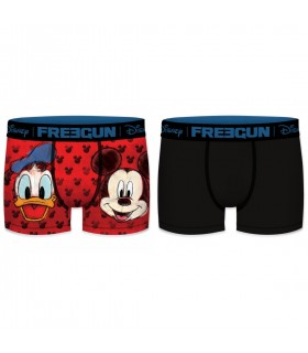 Lot de 2 Boxers homme Disney Donald & Mickey Faces