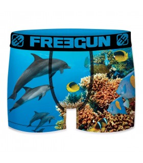 Boxer homme Summer Animals Dolphin