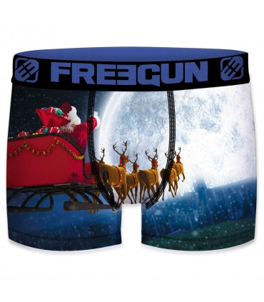 Men's Christmas Moon Boxer