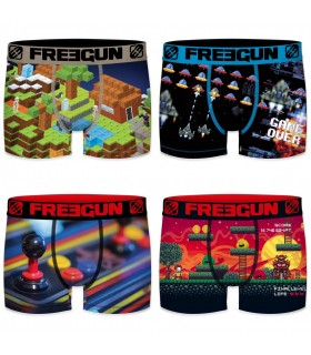 Pack of 4 men's Retro Gaming Boxers G8