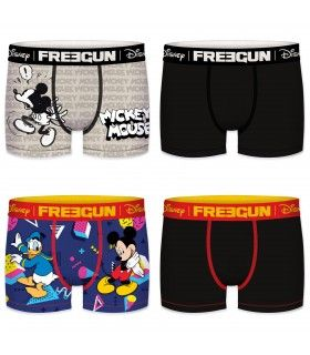 Lot de 4 Boxers Freegun garçon Disney G1