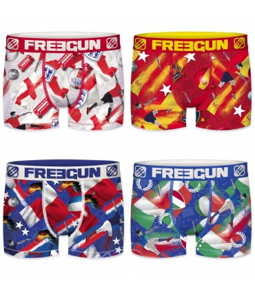 Pack of 4 men's Nations Boxers G9