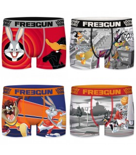 Lot de 4 Boxers garçon Looney Tunes