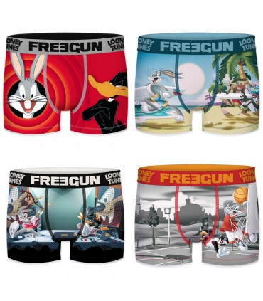 Pack of 4 men's Looney Tunes Boxers