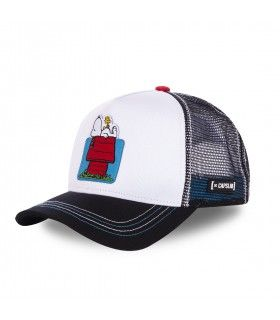 Peanuts House White Cap with mesh