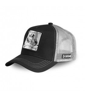 Men's Capslab Monopoly Money Black Cap