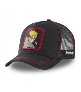 Naruto Black Cap with mesh