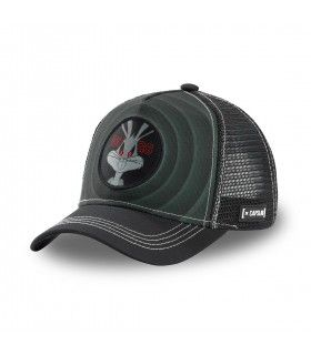Looney Tunes Dark Bugs Bunny Grey Cap with mesh