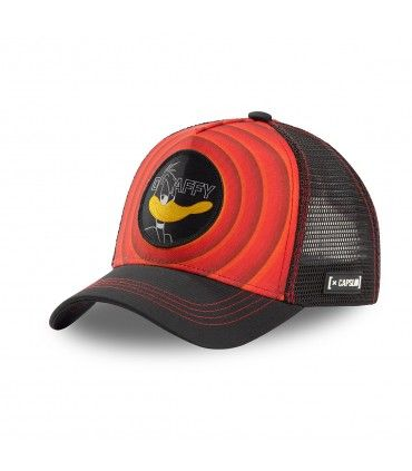 Casquette Capslab Looney Tunes Daffy Rouge