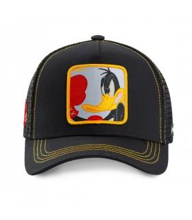 Casquette Capslab Looney Tunes Daffy Noir et Jaune