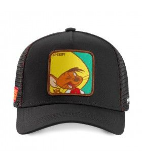Casquette Capslab Looney Tunes Speedy Gonzales Noir