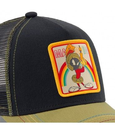 Casquette Capslab Looney Tunes Marvin the Martian Noir zoom patch