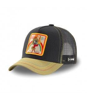 Looney Tunes Marvin the Martian Black Cap with mesh
