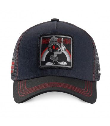 Casquette Capslab Looney Tunes Marvin the Martian Gris