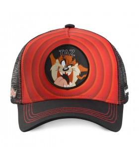 Casquette Capslab Looney Tunes Taz Rouge vue de face