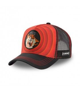 Looney Tunes Taz Red Cap with mesh