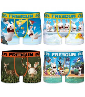 Pack of 6 Raving Rabbids Men's Boxers