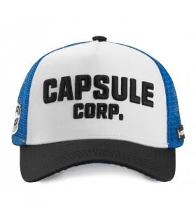 Casquette Capslab Dragon Ball Z 4 Capsule Corp Blanc