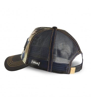 Casquette Capslab Dragon Ball Z 4 Vegeta Noir