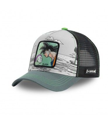 Casquette Capslab Dragon Ball Z 4 Clash Gris