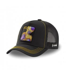 Men's Capslab Dragon Ball Broly Golden Frieza Black Cap